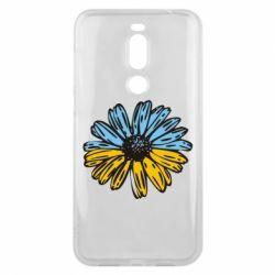 Чехол для Meizu X8 Українська квітка - FatLine