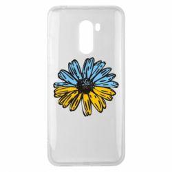 Чехол для Xiaomi Pocophone F1 Українська квітка - FatLine