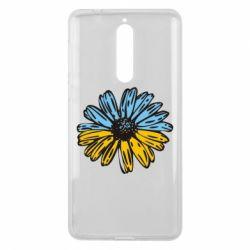 Чехол для Nokia 8 Українська квітка - FatLine