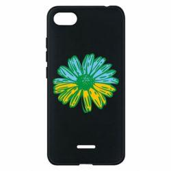 Чехол для Xiaomi Redmi 6A Українська квітка - FatLine