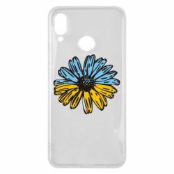 Чехол для Huawei P Smart Plus Українська квітка - FatLine
