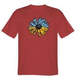Мужская футболка Українська квітка - FatLine