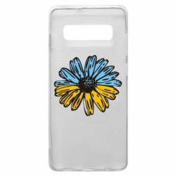 Чехол для Samsung S10+ Українська квітка