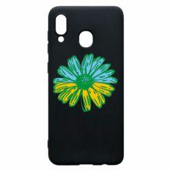 Чехол для Samsung A20 Українська квітка