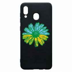 Чехол для Samsung A30 Українська квітка