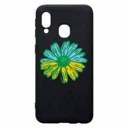 Чехол для Samsung A40 Українська квітка