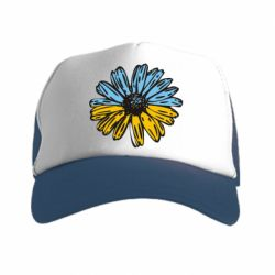 Кепка-тракер Українська квітка - FatLine