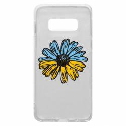 Чехол для Samsung S10e Українська квітка