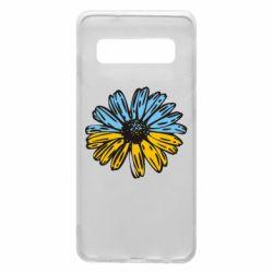 Чехол для Samsung S10 Українська квітка