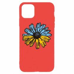 Чехол для iPhone 11 Pro Українська квітка