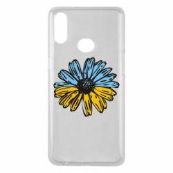 Чехол для Samsung A10s Українська квітка