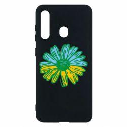Чехол для Samsung M40 Українська квітка