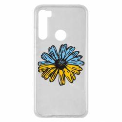 Чехол для Xiaomi Redmi Note 8 Українська квітка