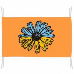 Прапор Українська квітка