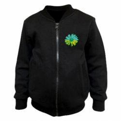 Детский бомбер Українська квітка