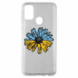 Чехол для Samsung M30s Українська квітка