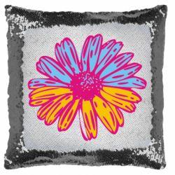 Подушка-хамелеон Українська квітка