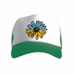 Детская кепка-тракер Українська квітка