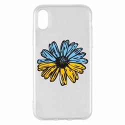 Чехол для iPhone X/Xs Українська квітка