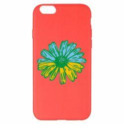 Чехол для iPhone 6 Plus/6S Plus Українська квітка