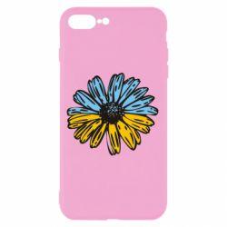 Чохол для iPhone 8 Plus Українська квітка