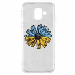 Чехол для Samsung A6 2018 Українська квітка