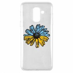 Чехол для Samsung A6+ 2018 Українська квітка