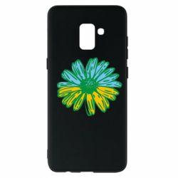 Чехол для Samsung A8+ 2018 Українська квітка