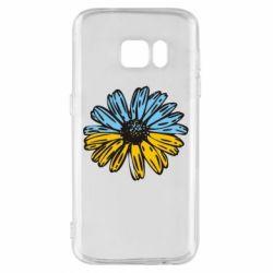 Чехол для Samsung S7 Українська квітка