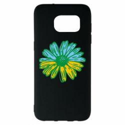 Чохол для Samsung S7 EDGE Українська квітка
