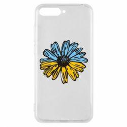Чехол для Huawei Y6 2018 Українська квітка - FatLine