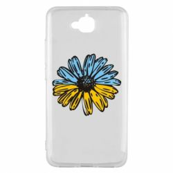 Чехол для Huawei Y6 Pro Українська квітка - FatLine