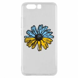 Чехол для Huawei P10 Українська квітка - FatLine