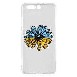 Чехол для Huawei P10 Plus Українська квітка - FatLine