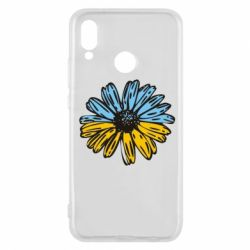 Чехол для Huawei P20 Lite Українська квітка - FatLine
