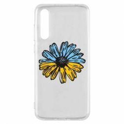 Чехол для Huawei P20 Pro Українська квітка - FatLine