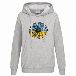 Женская толстовка Українська квітка - FatLine