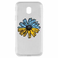 Чехол для Samsung J3 2017 Українська квітка