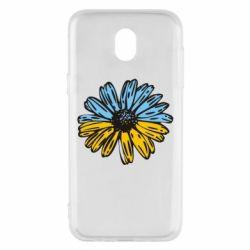 Чохол для Samsung J5 2017 Українська квітка