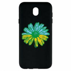Чехол для Samsung J7 2017 Українська квітка