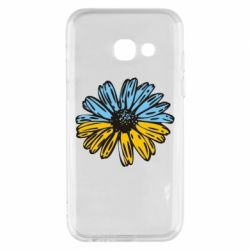 Чехол для Samsung A3 2017 Українська квітка