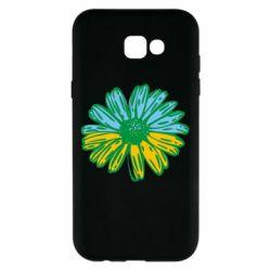 Чехол для Samsung A7 2017 Українська квітка
