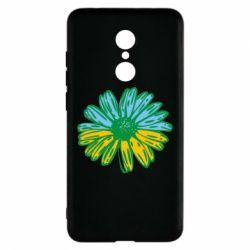 Чехол для Xiaomi Redmi 5 Українська квітка - FatLine