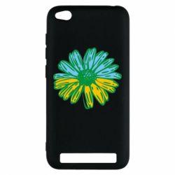 Чехол для Xiaomi Redmi 5a Українська квітка - FatLine
