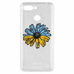Чехол для Xiaomi Redmi 6 Українська квітка - FatLine