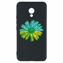 Чехол для Meizu M5 Українська квітка - FatLine