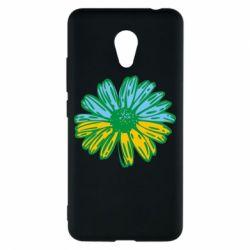 Чехол для Meizu M5c Українська квітка - FatLine
