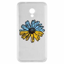 Чехол для Meizu M5s Українська квітка - FatLine