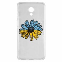 Чехол для Meizu M6s Українська квітка - FatLine