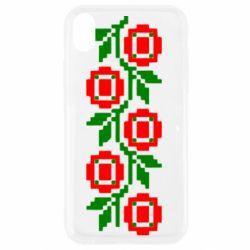 Чехол для iPhone XR Українська вишивка - FatLine